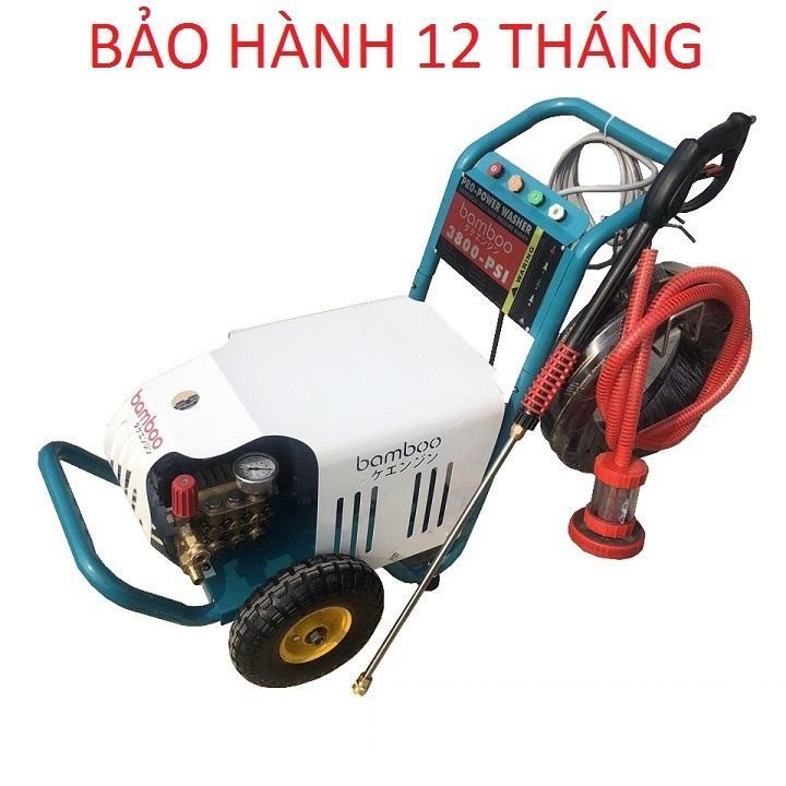 Máy Rửa Xe Cao Áp 5.5kw Bamboo 3800PSI 3 Pha Cao Áp 5.5kw Bamboo 3800PSI 3 Pha