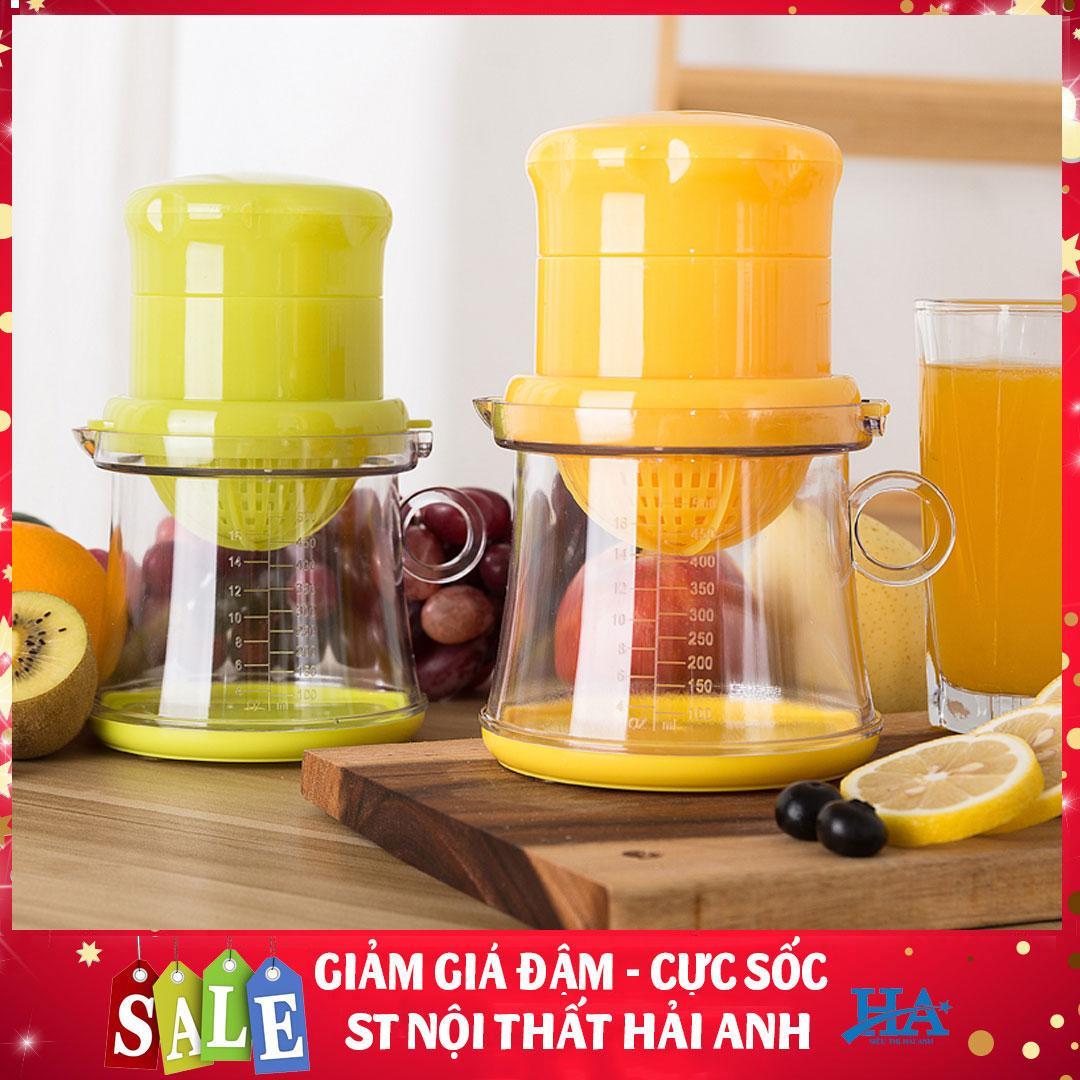 [Siêu sale] Máy ép trái cây mini, máy xay sinh tố, hoa quả bằng tay an toàn tiện lợi - GDLIEU07