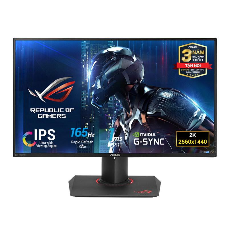 Màn hình Game ASUS ROG SWIFT PG279QE – 27 inch, WQHD, IPS, Tần số quét 165Hz, G-Sync - ASUS PG Series ROG SWIFT PG279QE Monitor