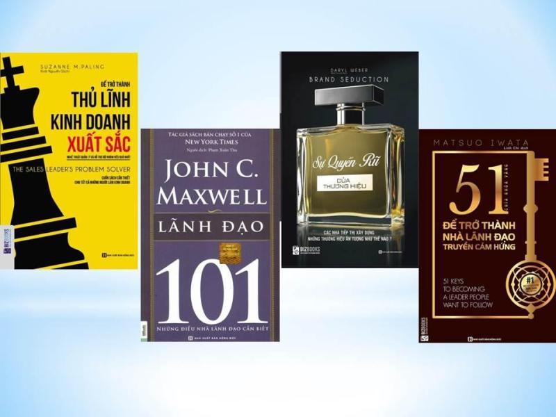 Combo Lãnh đạo thu phục lòng người (Để trở thành thủ lĩnh kinh doanh xuất sắc + Sự quyến rũ của thương hiệu + Lãnh đạo 101 + 51 chìa khóa vàng để trở thành nhà lãnh đạo truyền cảm hứng, tặng kèm bookmark))