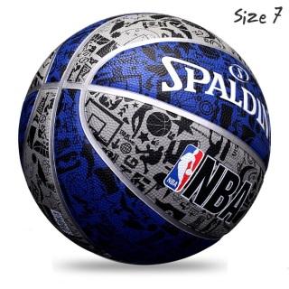 Bóng Rổ Spalding NBA GUMAX OUTDOOR SIZE 7 - Tặng Bộ Kim Bơm Bóng Và Lưới Đựng Bóng thumbnail