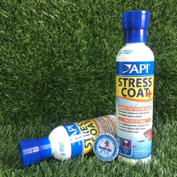 API STRESS COAT ( GIẢM STRESS , GIÚP CÁ SUNG , ĂN MẠNH ) 237ml
