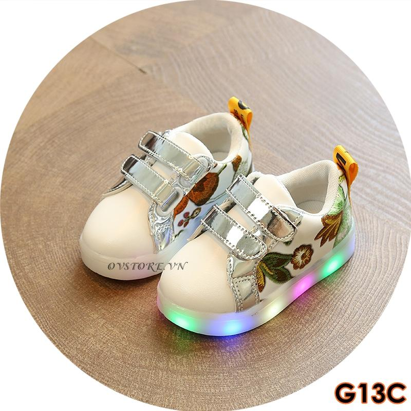 Giá bán Giày Sneaker Cho Bé Đế Có Đèn LED G13