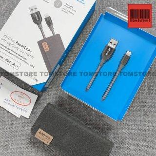 Cáp sạc nhanh MFI Lightning Anker Powerline+ A8121 A8122 Chiều dài cáp 0.9m 1.8m thumbnail