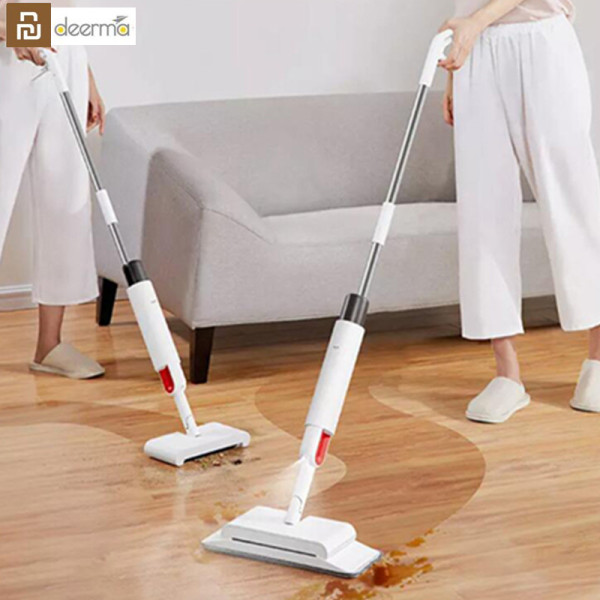 Bảng giá Youpin Deerma TB900 Sweeping and Mopping 2 in 1 Handheld Water Spraying Mop Floor Cleaner Rotatable Spiral Rolling Brush Sweeper Điện máy Pico