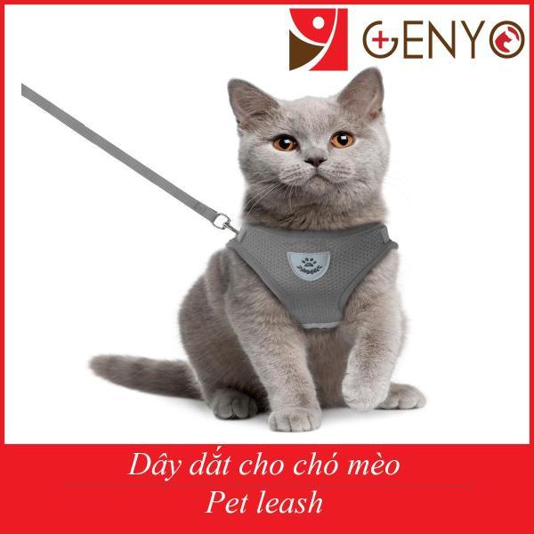 Dây yếm dắt chó mèo cao cấp không làm đau thú