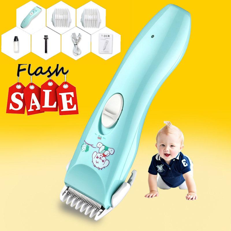 [MỚI] Tông đơ cắt tóc trẻ em dùng cho cả gia đình chuyên nghiệp có sạc pin, dụng cụ máy hớt tóc cho bé