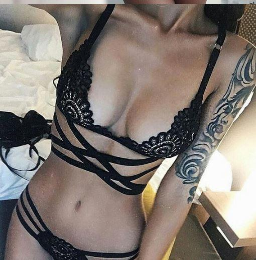 Set bikini dây đan - Size M,L - Bi700