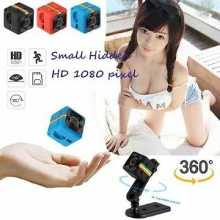 Camera SQ11 giám sát, Camera hành trình xe máy full HD 1080P. camera hành trình mini giá rẻ SQ11 (Đen) [TrucNgan] thumbnail