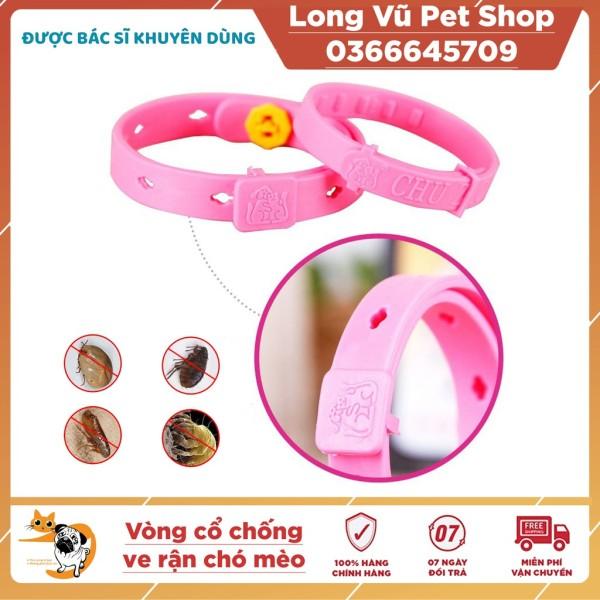 Vòng cổ chống ve rận cho chó mèo dưới 5kg