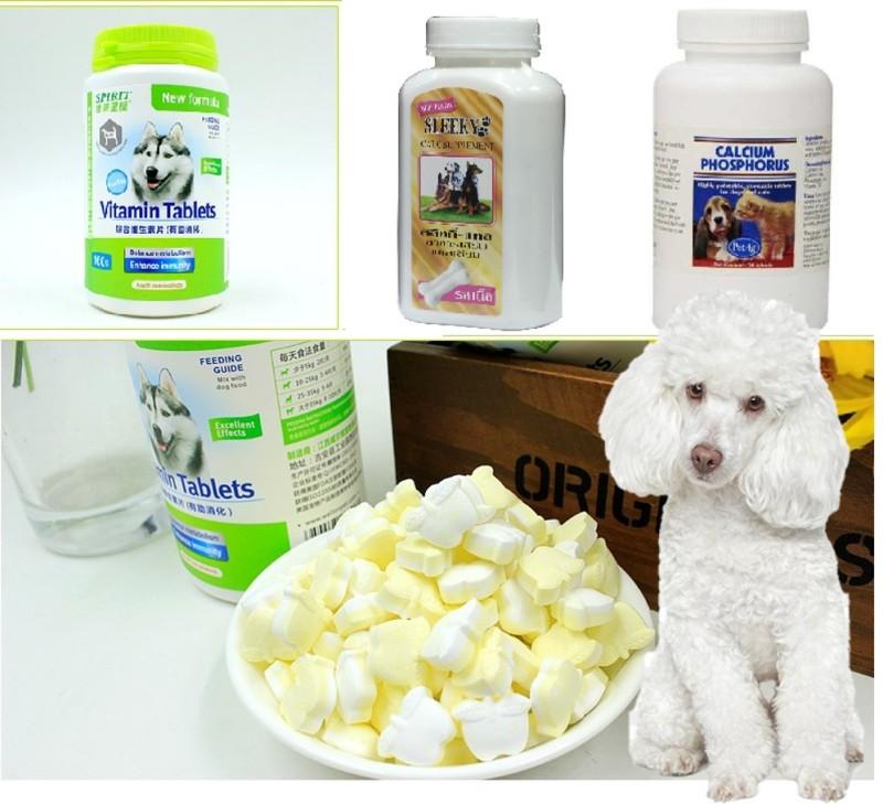 Canxi Calcium Phophorus (3 loại canxi mỹ, can xi Thái) Viên chắc xương, giúp dưỡng lông và chó mèo biếng ăn và chó bị hạ bàn