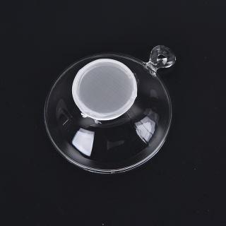1x bộ lọc trà thủy tinh có tay cầm, cho lá lỏng lẻo dụng cụ pha trà rây lọc trà - hình 1