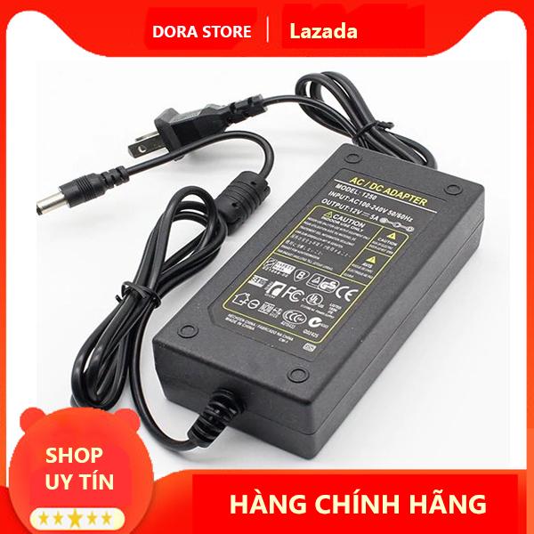 Bảng giá Bộ nguồn nhựa adapter 12V-5A (DC) (Đen) Chưa Có Đánh Giá