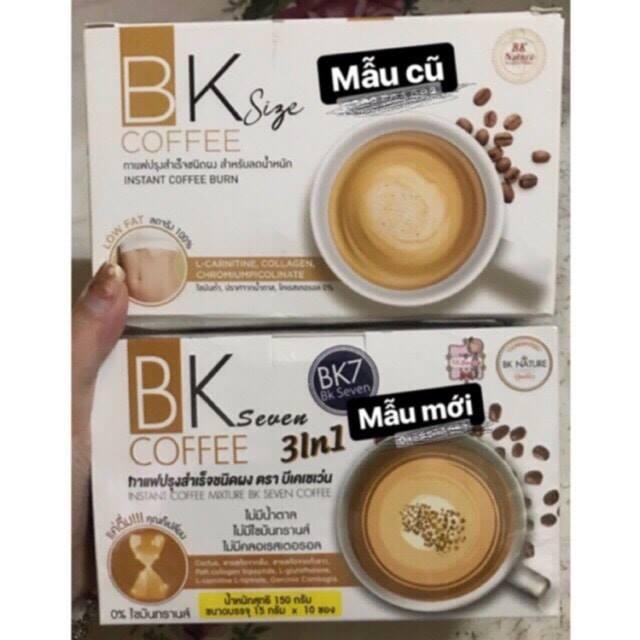 giảm cân Cafe Bk Seven Thái Lan nhập khẩu
