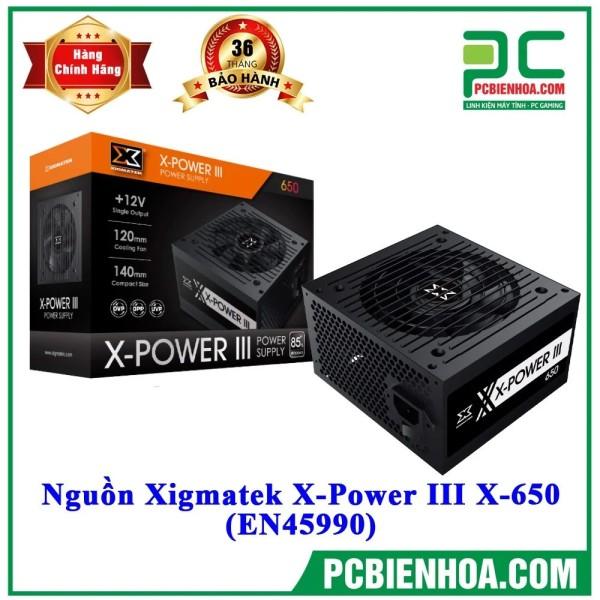 Bảng giá NGUỒN MÁY TÍNH XIGMATEK X-POWER III 650 80PLUS WHITE Phong Vũ