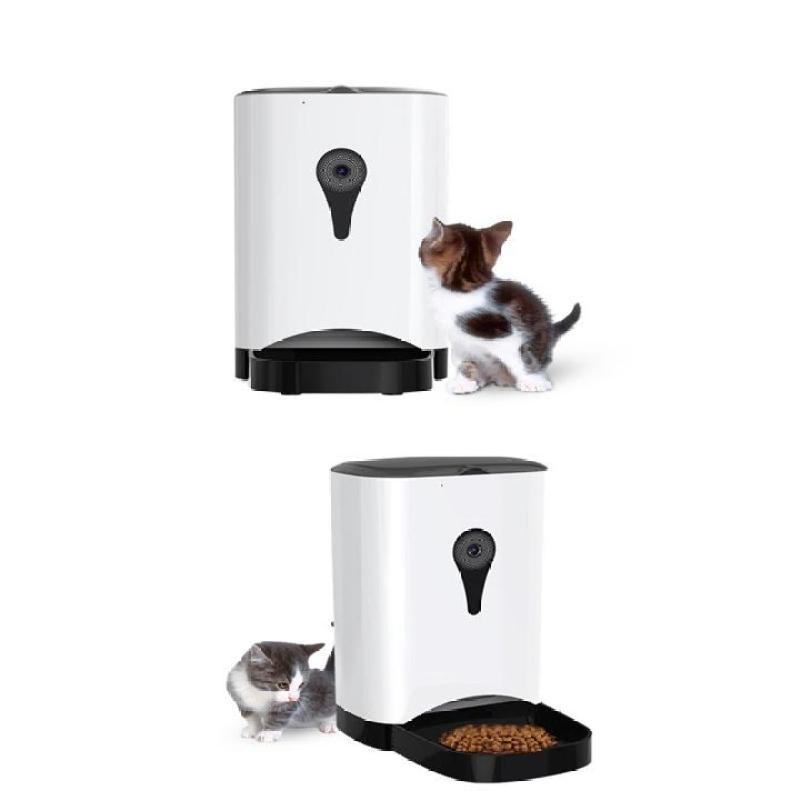 Máy Cho Chó Mèo Ăn Tự Động Có Camera và Phát Giọng Nói