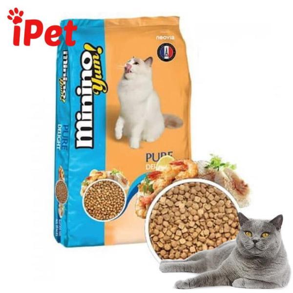 Thức Ăn Cho Mèo Minino Yum 350g - iPet Shop