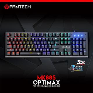 Bàn Phím Cơ Gaming Full-sized Có Dây Fantech MK885 OPTIMAX Outemu Optical Blue Switch LED RGB Full Anti Ghosting Có Phần Mềm Tùy Chỉnh Riêng - 100% Original product thumbnail