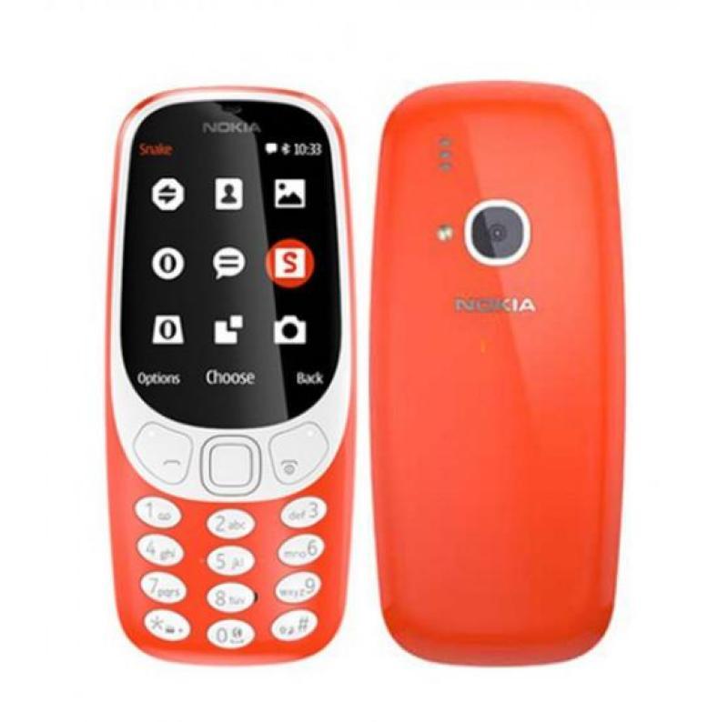 Điện thoại Nokia 3310 - 2 Sim(màu ngẫu nhiên)
