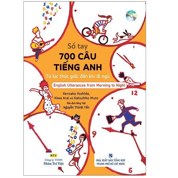 Sách - Sổ Tay 700 Câu Tiếng Anh - Từ Lúc Thức Giấc Đến Khi Đi Ngủ - 3200071974911