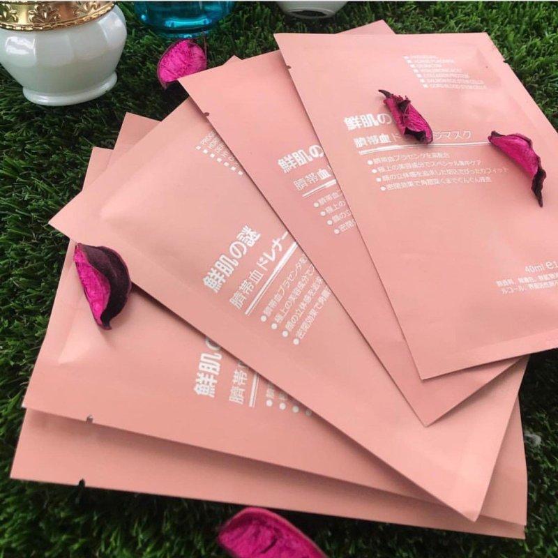 COMBO 10* Mặt Nạ Nhật Bản Nhau Thai Tế Bào Gốc Rwine Beauty Stem Cell Placenta Mask Nhật Bản-giảm 15% khi mua 3 combo Thơm Shop nhập khẩu