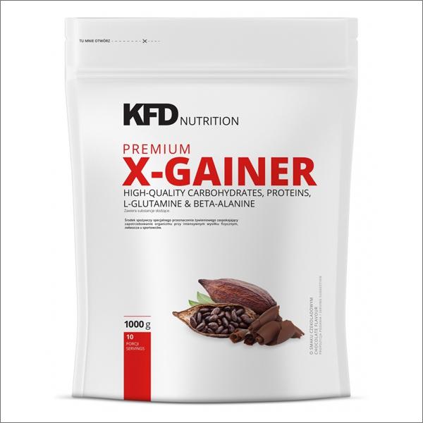 Tăng Cân Tăng Cơ Bắp Hồi Phục Cơ KFD NUTRITION PREMIUM X-GAINER 1KG - Từ Châu Âu