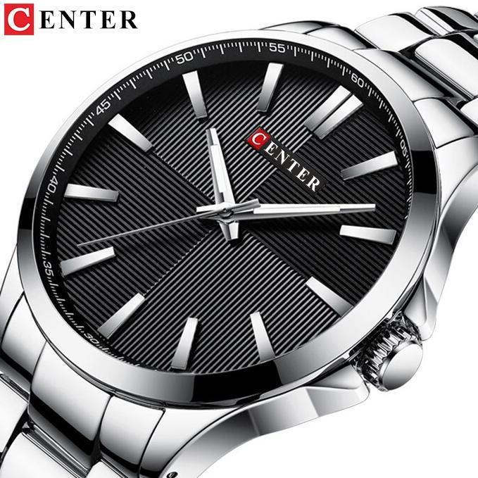 (Trợ Giá) ĐỒNG HỒ NAM CENTER TIME - KHÓA BƯỚM & DÂY ĐÚC ĐẶC bán chạy