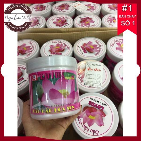Hấp ủ Hoa Sen ⚜️FREESHIP⚜️ Hấp dầu hoa sen Lotus tốt nhất