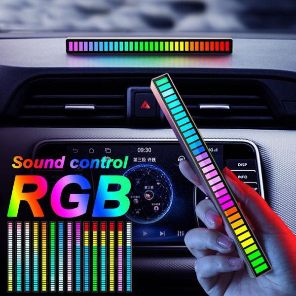 Bảng giá Thanh Đèn Led RGB nháy theo nhạc, Đèn Led cảm biến âm thanh quay clip Tiktok triệu view, Có app điều khiển, Pin sạc Siêu khỏe, Thanh Đèn Led cảm biến Chất liệu Aluminum dùng trang trí ô tô, máy tính