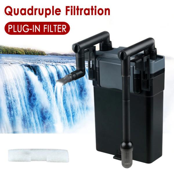 Lọc thùng Sunsun HBL-801 -802 -803 siêu sạch, tích hợp sẵn 5 ngăn lọc, dòng chảy 500l/h dùng cho bể cá, hồ cá, hồ thủy sinh