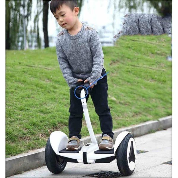 Mua Xe điện cân bằng thông minh ANSPEED- Xe điện cân bằng Mini Robot- Có Bluetooth đèn led tay xách