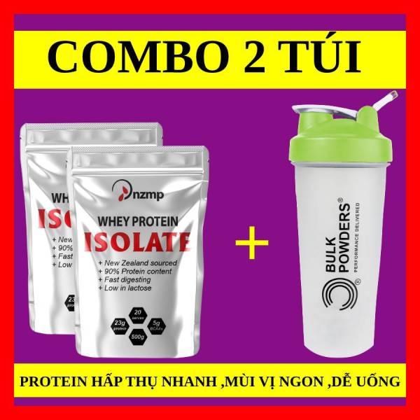 Sữa Tăng Cơ Whey Protein Isolate NZMP 1kg + tặng bình pha lắc shaker 700ml cao cấp