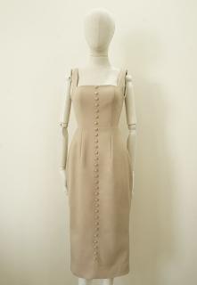MAVEN - Đầm ôm hai dây dáng dài đính nút Melanie thumbnail