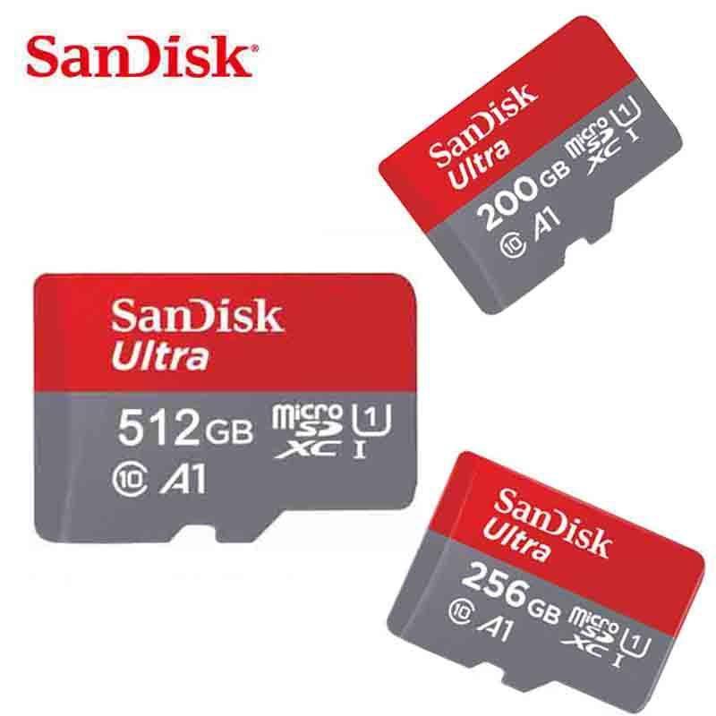 Thẻ nhớ micro SD sandisk Ultra A1 512GB SDXC class 10 100Mb/s