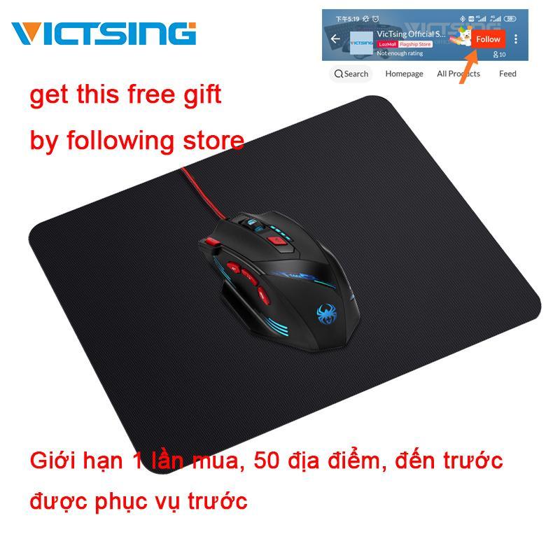 Giá 【Free 】victsing 210X250X2 Mm Chất Lượng Cao Đen Miếng Lót Chuột Hoàn Hảo Cho Văn Phòng Hoặc Sử Dụng Tại Nhà