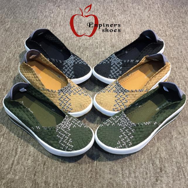 Giày nữ đế xuồng ngoại cỡ big size chính hãng thương hiệu Enpiners Thái Lan, phiên bản Supdura siêu bền siêu nhẹ Sr7 giá rẻ