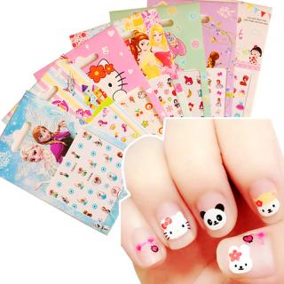 Set sticker dán móng cho bé gái đáng yêu BBShine J007a 6