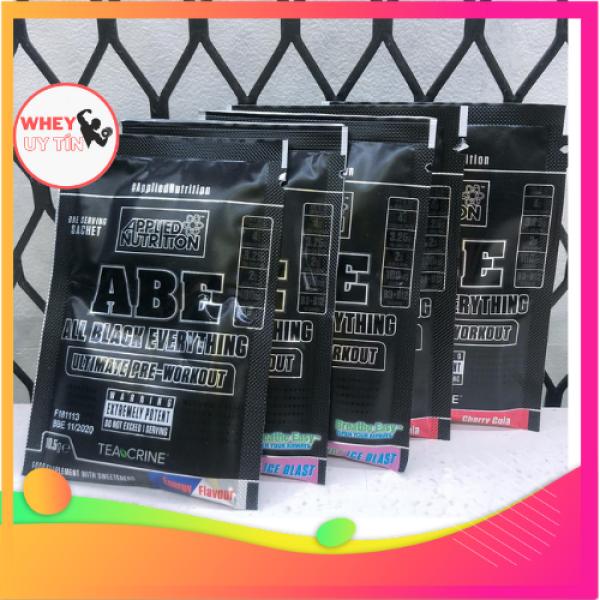 [Combo 30 Gói 1 lần dùng] Tăng sức mạnh, sức bền ABE Preworkout Applied Nutri Wheyuytin