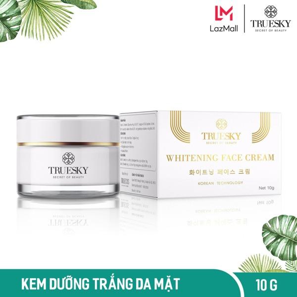 Kem dưỡng trắng da mặt Truesky chiết xuất ngọc trai hồng y 10g - Whitening Face Cream