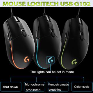 Chuột chơi game Logitech G102 Gaming USB Black - Chuột chơi game cao cấp giá rẻ đang bán rất chạy của Logitech. thumbnail