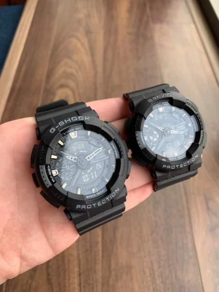 Đồng hồ thể thao nam G-Shock - GA110 55mm điện tử chống nước đa năng (Màu đen) - Gsock Việt Nam -Ngochuyen.watches bán chạy