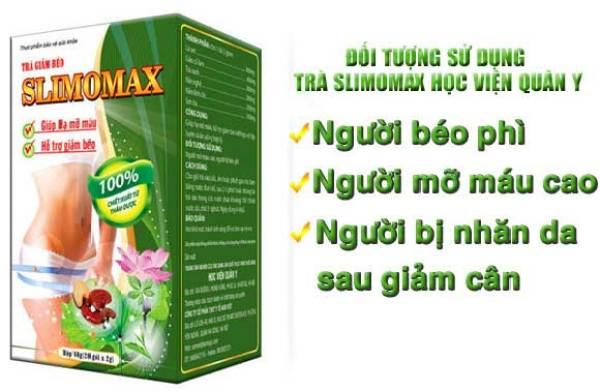 SLIMOMAX Trà giảm cân cao cấp