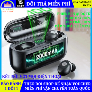 Tai Nghe Bluetooth Amoi F9 Tai Nghe Không Dây F9 Công Nghệ Bluetooth 5.0 Kén Sạc 2000 Mah Kiêm Sạc Dự Phòng Nút Điều Khiển Cảm Ứngchống Thấm Nước Chống Bụi Dùng Cho Mọi Điện Thoại 5