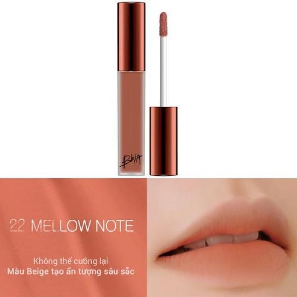 Son kem Bbia Last Velvet Lip Tint Version 5 Hàn Quốc No.22 Mellow Note tốt nhất