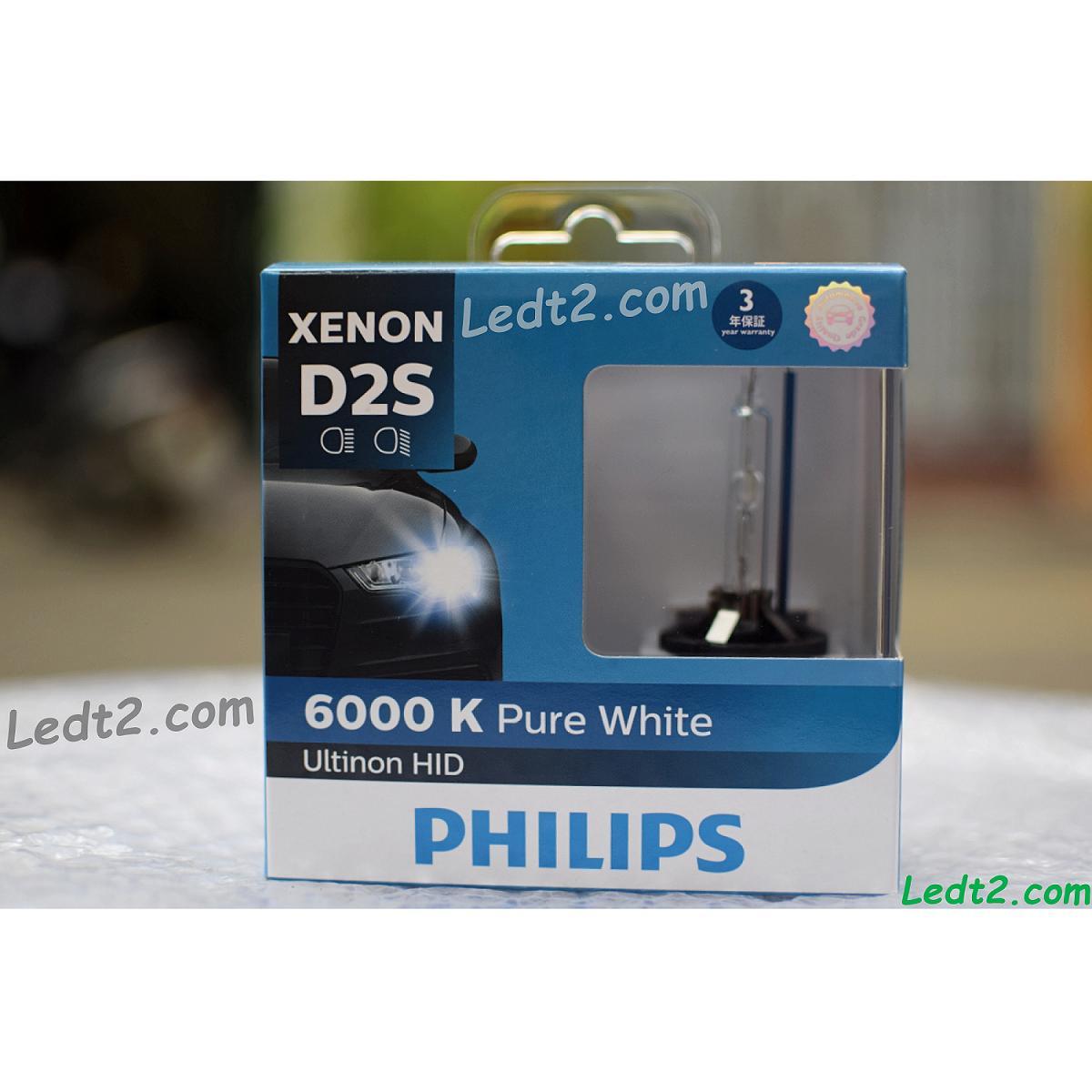 [ledt2.com] [bh 3 Năm] Xenon Philips Ultinon 6000k D1s, D2s, D3s, D4s [sl: 1 Bóng] By Isop.