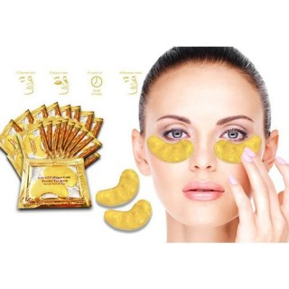 Mặt nạ mắt Crystal Collagen Gold Powder Eye Mask(combo 3 tấm) thumbnail