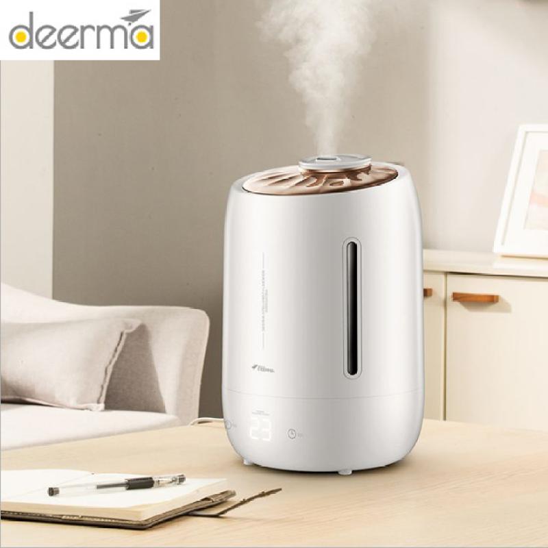 Máy tạo ẩm điều hòa không khí siêu âm dung tích 5L, cảm ứng nhiệt độ - Deerma DEM-F600