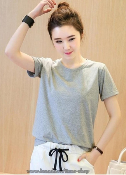 Áo thun nữ trơn vải dày mịn Hàn Quốc thương hiệu Elsa (Có 12 Màu 9-95Kg)