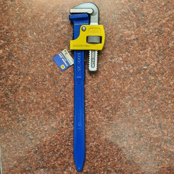 Kìm nước Nhật Bản Kouritsu 24 inch, Bảo hành 12 tháng - Mỏ lết răng Kouritsu