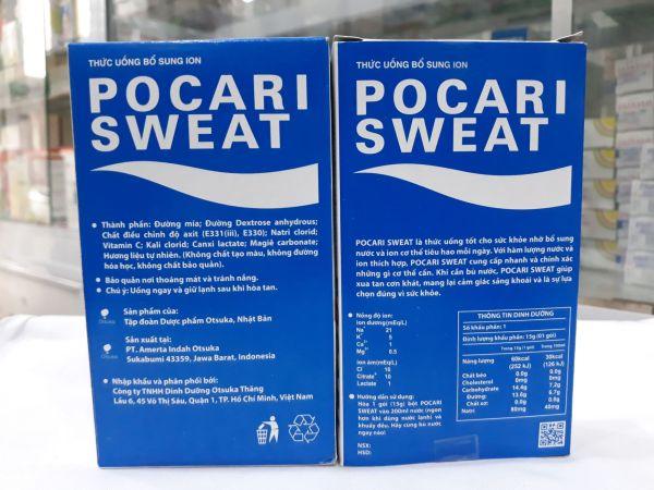 Pocari Sweat bù nước dạng BỘT hộp 5 gói